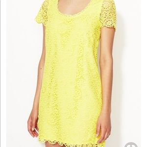 French Connection Fast Lisella crochet dress