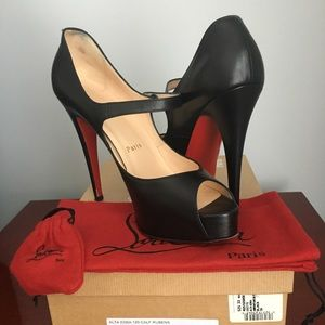 Christian Louboutin Alta Iowa Mary Jane Pumps