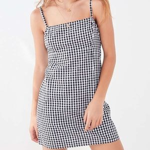 BNWT Cooperative Straight-Neck Gingham Dress
