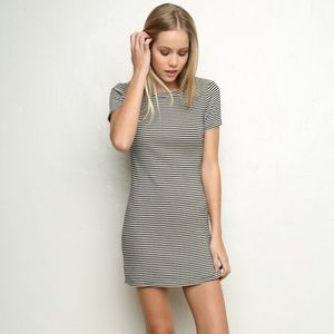 Brandy Melville Striped Jenelle Dress