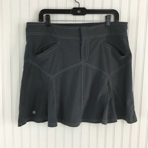 ATHLETA All Terrain Hiking Travel Sports Skirt