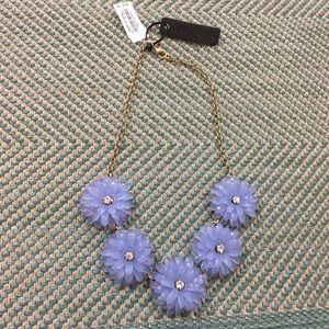 NWT J.Crew Flower Statement Necklace