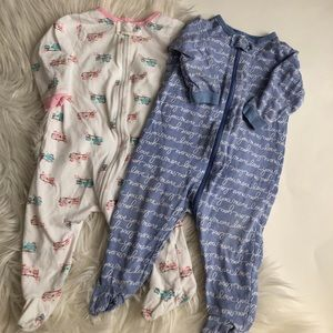 Set of two baby jammies