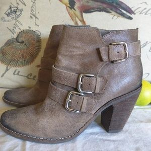 Dolce Vita dv Harness Ankle Leather Booties