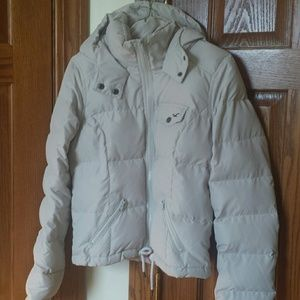 Hollister hooded Down Jacket