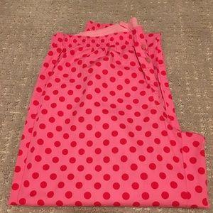 Pink by Victoria's Secret hot pink pj pants, XS