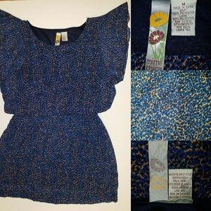 Mimi Chica Blue mini dress Sz M