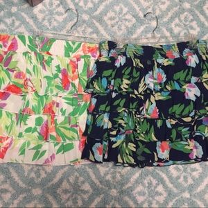 Lot of two Aeropostale chic skirts size xl