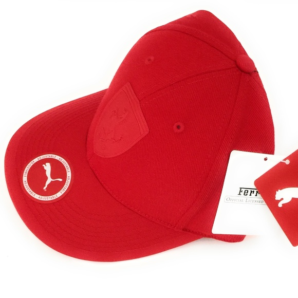 Ferrari Other - Ferrari LS mansion BB cap Puma Rosso Corsa 4bc0e4c4c79