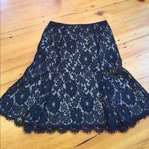 Beautiful Black Lace Skirt