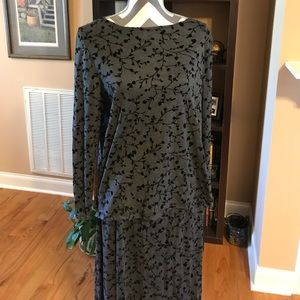NWT Sag Harbor Skirt and Top Set