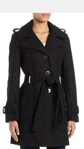 Calvin Klein wool single breasted trench coat