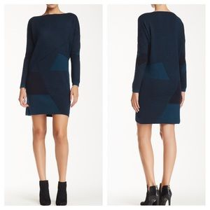 Vince Green wool and cashmere sweater dress