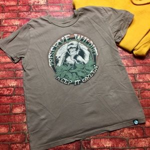 "Vintage Lucky Brand ""Reserve Wildlife"" Graphic Tee"