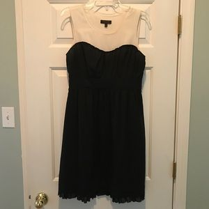 The Limited Black & Ivory Dress
