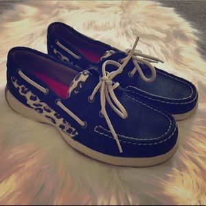 Stylish Leopard Print Boat Shoe