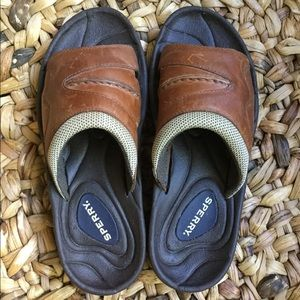 Sperry leather sandals, excellent condition