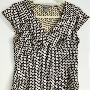 Ann Taylor patterned top
