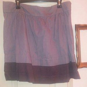 Old navy smokey lavendar a line skirt 16
