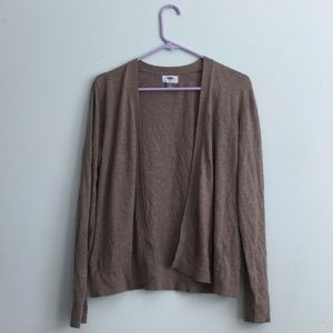 Old Navy Brown Soft Cardigan