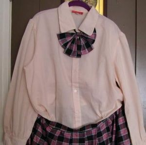 Anime Cosplay School girl outfit