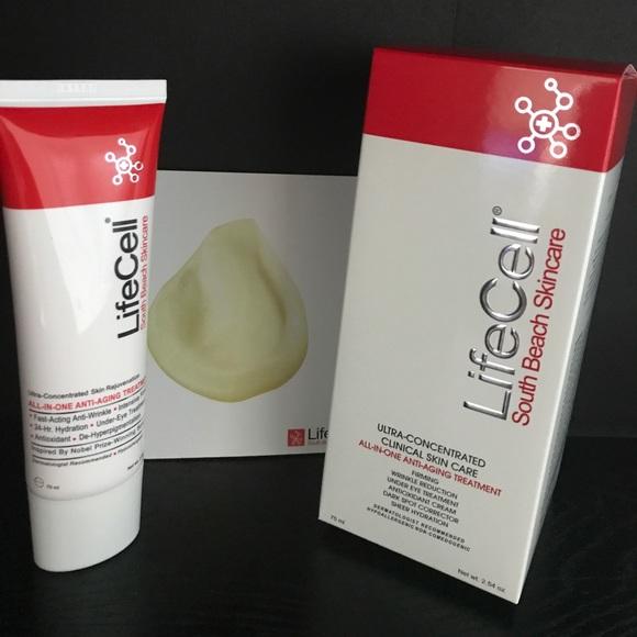 a12393dbd8d Lifecell Anti-Aging Wrinkle Cream 2.54 oz New! M 59e8c54c36d59439170d58e5