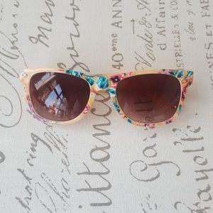 Festival Floral Sunglasses (NWOT)