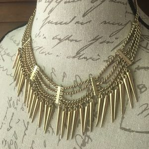 Layered Spike Necklace