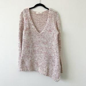 Zara Pink Chunky Knit Sweaters
