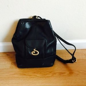 Vintage Jones New York Leather Backpack