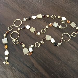 """Lia Sophia necklace 36"""" long"""
