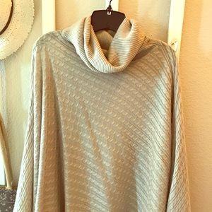 Boston Proper Pullover shawl/cape. Size is xs/s