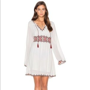 Sanctuary Azita Embroidered Bell Sleeve Dress NWOT