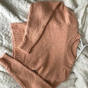 Zara knit crop sweater!
