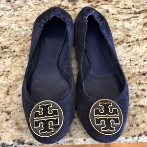 Suede Tory Burch Flats size 9.5