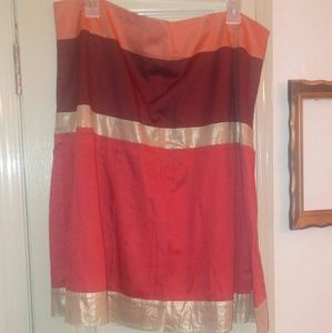 Ann taylor loft a line skirt 16