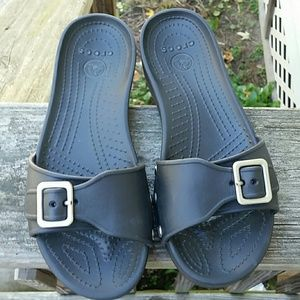 Crocs Black Flip Flop Sandal