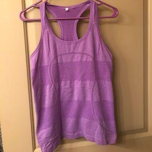 Lululemon workout top (purple) size 8