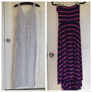Two Motherhood Maternity dresses S/M