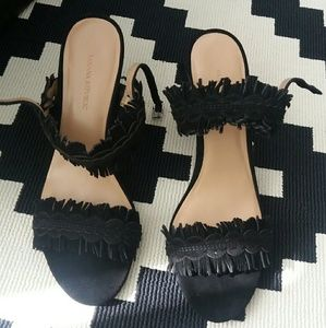 Banana Republic block heels