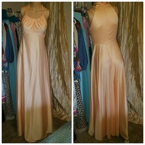 Authentic 1970s maxi dress