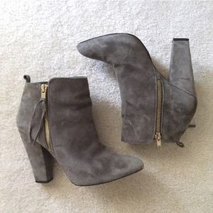 Steve Madden Suede Joplynn Ankle Boots
