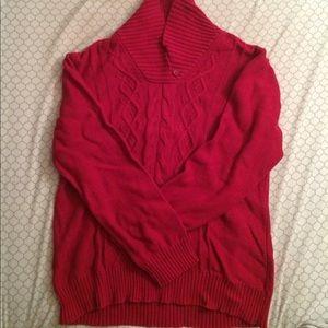 💃🏻Karen Scott cable knit sweater