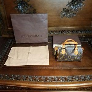 Louis Vuitton Speedy Mini Like New