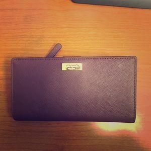 Kate Spade Dark Plum Wallet