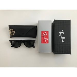 Authentic Polarized Ray-Ban Wayfarer Sunglasses