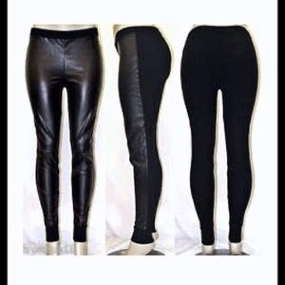 hoard as a rare commodity quality various colors VS Pleather leggings
