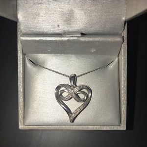 ZALES Infinite Heart Necklace