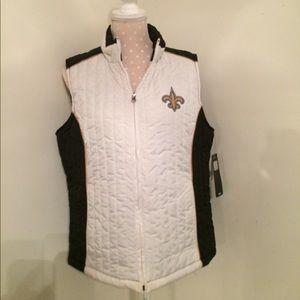 New Orleans Saints NWT team vest