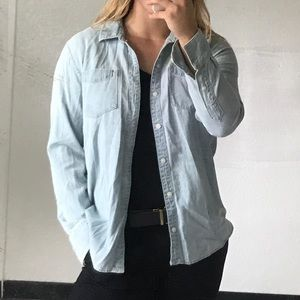 Denim button down by Lucky Brand